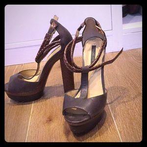 Rachel Zoe platform heels. Size 8